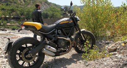 Ducati Scrambler Full Throttle prova Matteo Cappella foto Davide Orsatti, Foto Ufficio Stampa