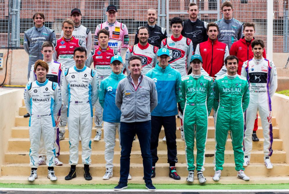 Formula E Test Rookie Marrakech, Foto Ufficio Stampa