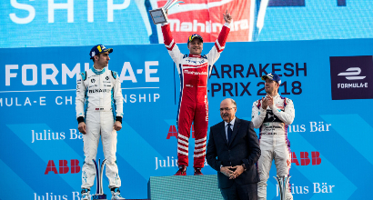 Formula E Rosenqvist vs Buemi, Foto Ufficio Stampa