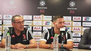 """Juventus, Sarri: """"Voglio la giusta mentalità, Pogba mi piace"""""""