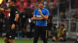 Arrivederci o addio? Il saluto tra Conte e Lukakudopo Inter-United