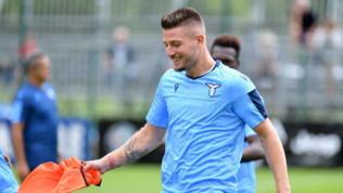 """Lazio, Lotito: """"Ora più difficile trattenere Miliknkovic-Savic"""""""