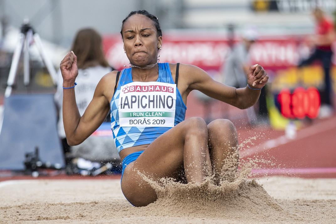 Larissa Iapichino è la nuova campionessa europea Under 20 di salto in lungo: con 6,58 metri l'azzurrina, ancora in categoria Allievi, segue...