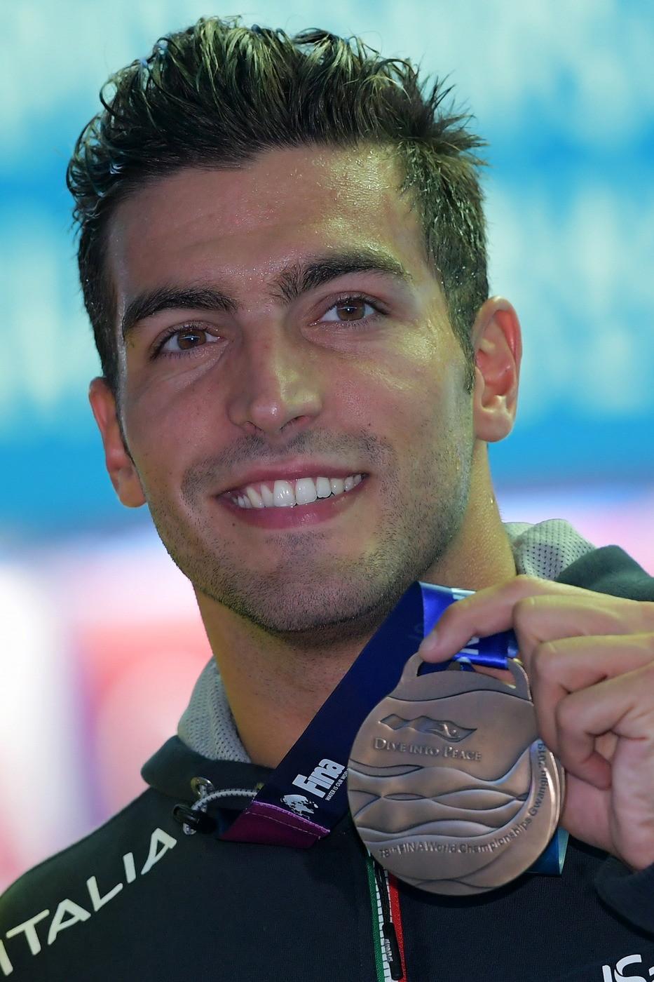Gabriele Detti ha vinto la medaglia di bronzo nei 400 stile libero ai Mondiali di nuoto, in corso a Gwangju, in Corea del sud. Oro al cinese Sun Yang,...