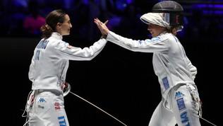 Scherma, Mondiali: l'Italia vince la medaglia di bronzo nella spada femminile e nella sciabola maschile