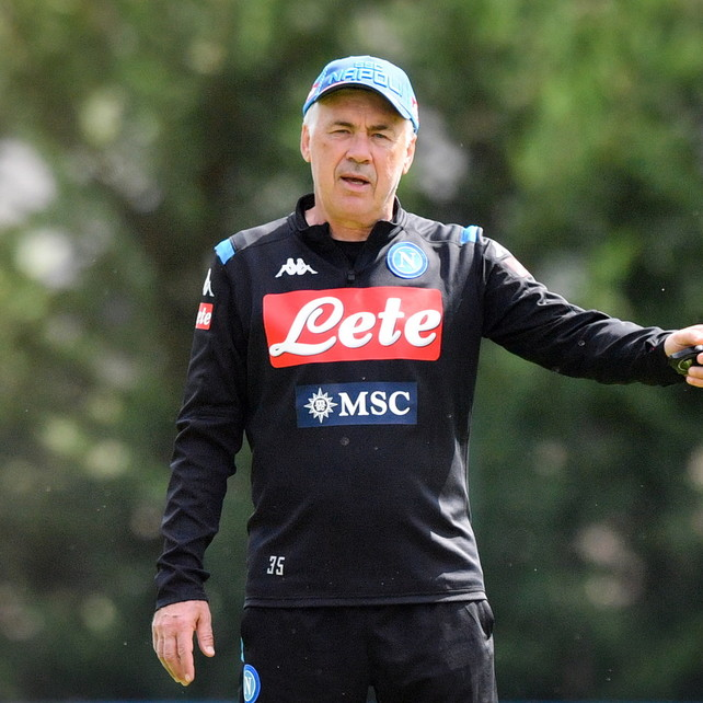 """Napoli, Ancelotti: """"Trattativa ancora aperta per James, siamo molto vicini a Elmas"""""""