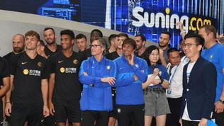 L'Inter a Suning-City. E Conte sorride in attesa del vertice