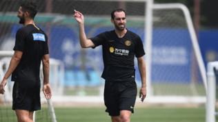 Il Muro si completa: Godin scende in campo con l'Inter