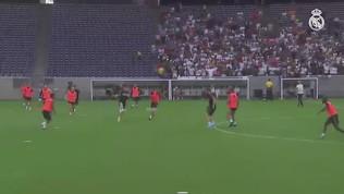 Bale risponde a Zidane: che gol in allenamento