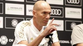 """Real, Zidane: """"Balenon è voluto entrare contro il Bayern"""""""