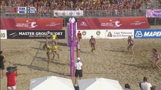 Lega Volley Summer Tour: festa scudetto per Brescia