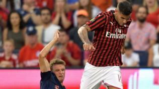 Milan, Theo Hernandez ko: distorsione alla caviglia destra