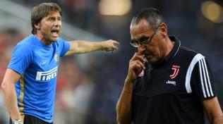 Juve-Inter, primo round: Sarri vs Conte