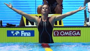 "Nuoto: Federica Pellegrini nella leggenda, sesto oro mondiale. ""Io infinita"""