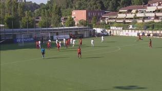 La Roma in campo col Gubbio: gli highlights