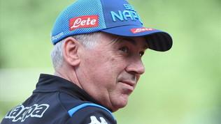 """Napoli, Ancelotti: """"Icardigrande centravanti, ma Milik è più completo"""""""