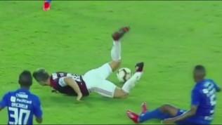Diego-crac: frattura alla caviglia