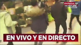De Rossi a Buenos Aires, tifosi in delirio