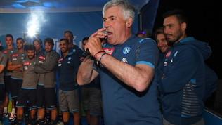 Napoli, Ancelotti carica i tifosi