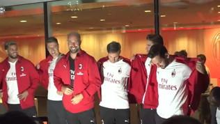 Milan, presentata la seconda maglia negli USA