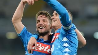 """Napoli, Mertens: """"Forse è l'ultima stagione"""""""