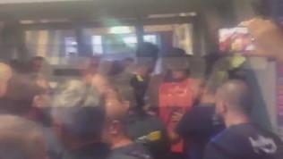 Rissa Emre-Torunarigha, interviene la polizia