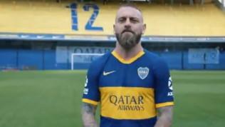 """De Rossi-Boca Juniors, è ufficiale: """"Qui come a casa, grazie"""""""