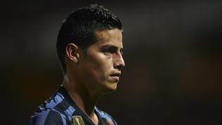 Napoli, James Rodriguez sfuma definitivamente: resta al Real Madrid
