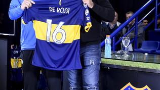 """De Rossi: """"Al Boca per vincere"""""""