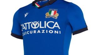Italrugby, omaggio a Leonardo sulla nuova maglia
