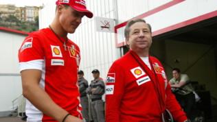 """Formula 1, Todt: """"Ho visto il GP di Germania con Schumacher"""""""