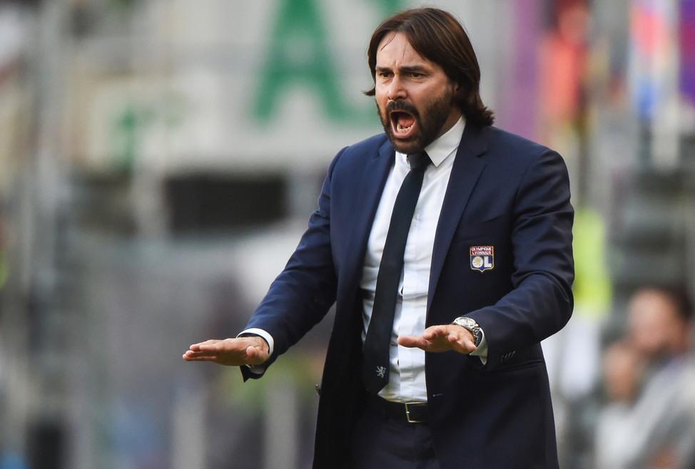 Reynald Pedros, allenatore della squadra femminile del Lione: nel 2019 ha vinto campionato, coppa di Francia e Champions League