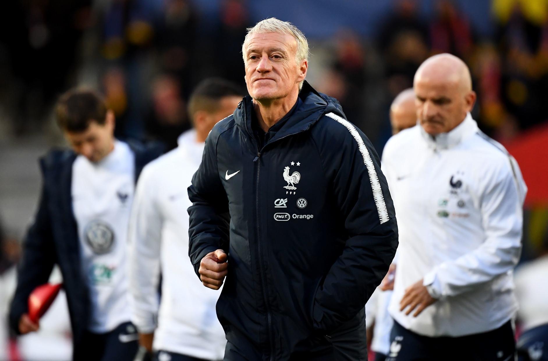 Didier Deschamps ct della Francia, campione del Mondo nel 2018