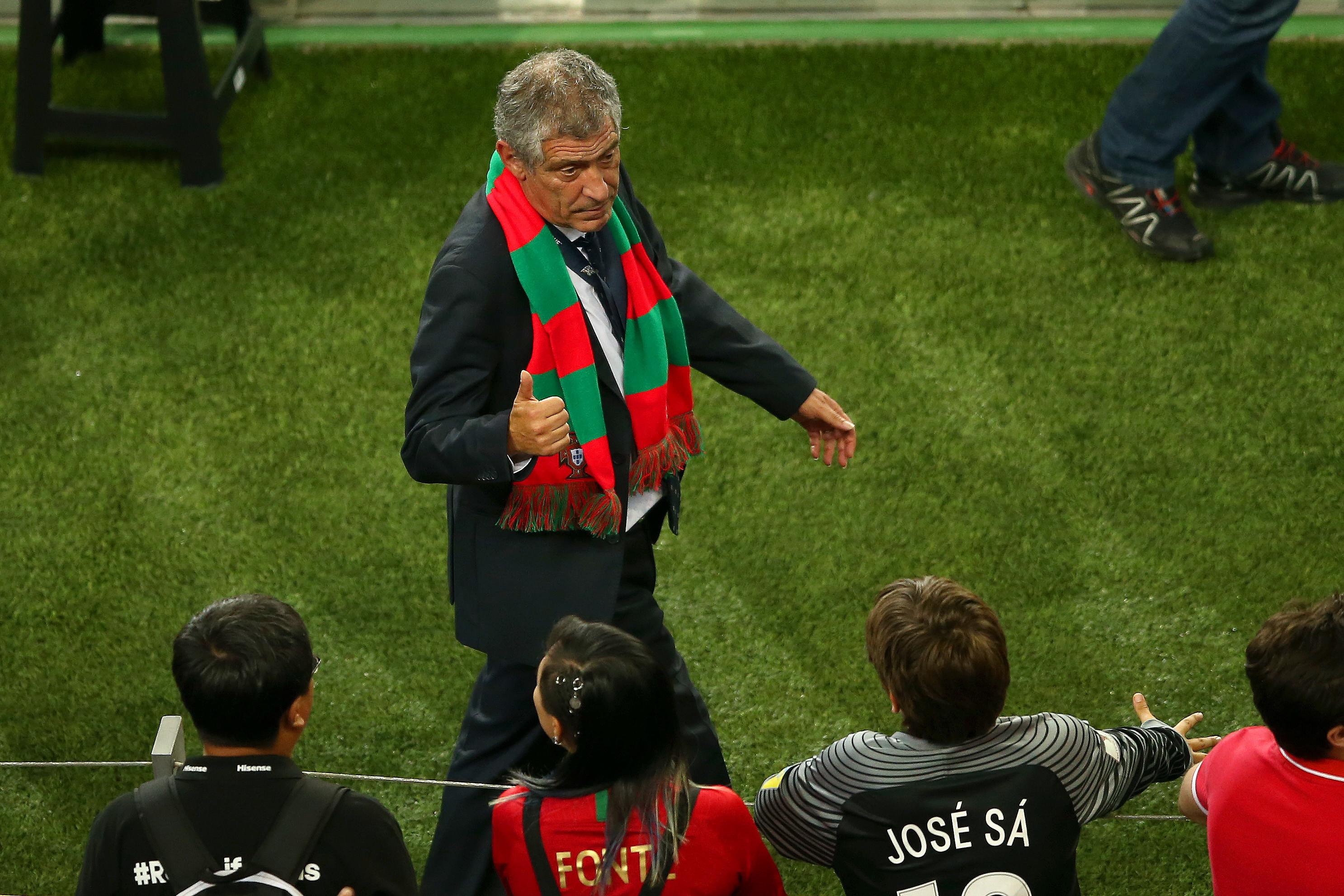 Fernando Santos: conquista della Nations League sulla panchina del Portogallo
