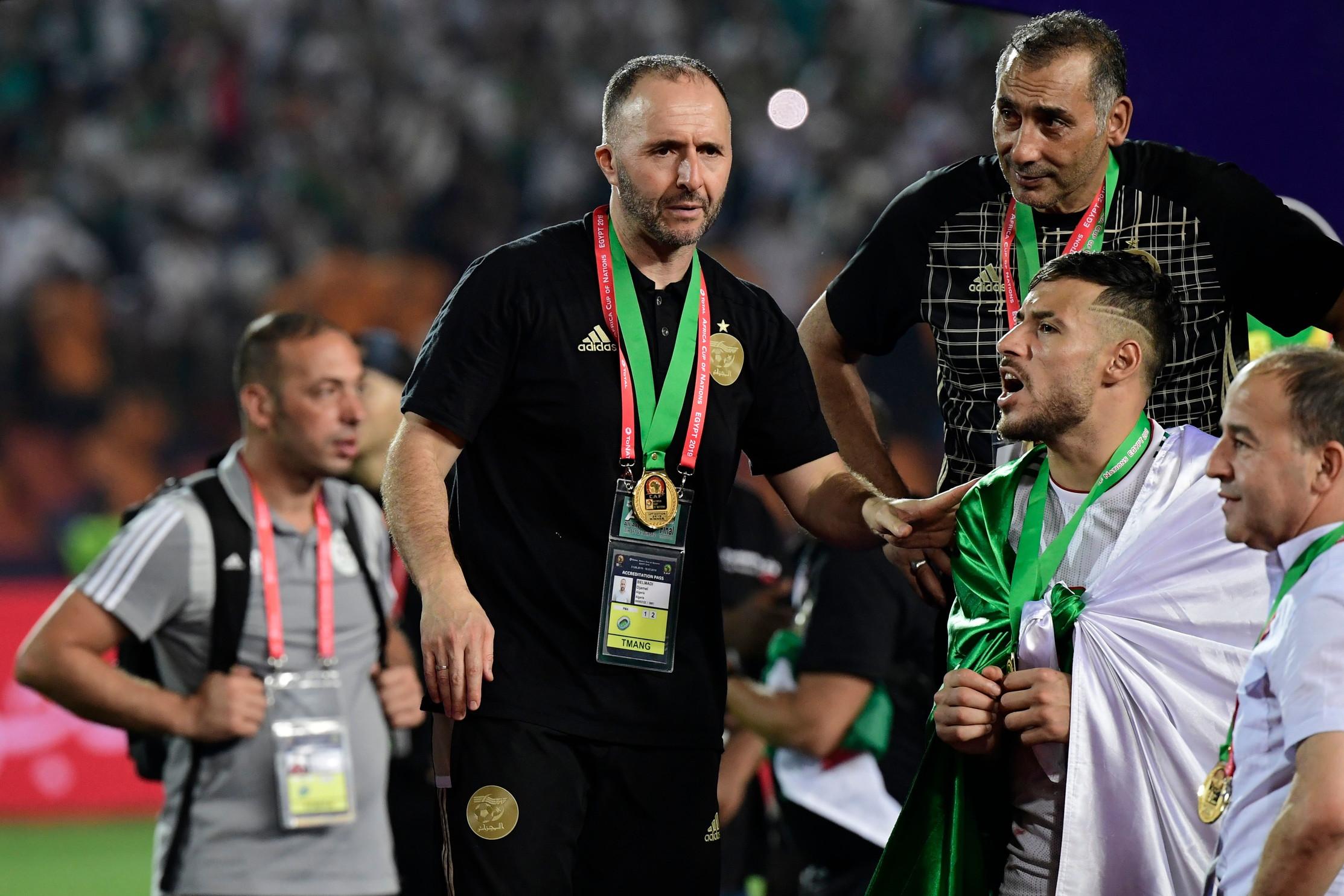 Djamel Belmadi: con l'Algeria ha trionfato in Coppa d'Africa