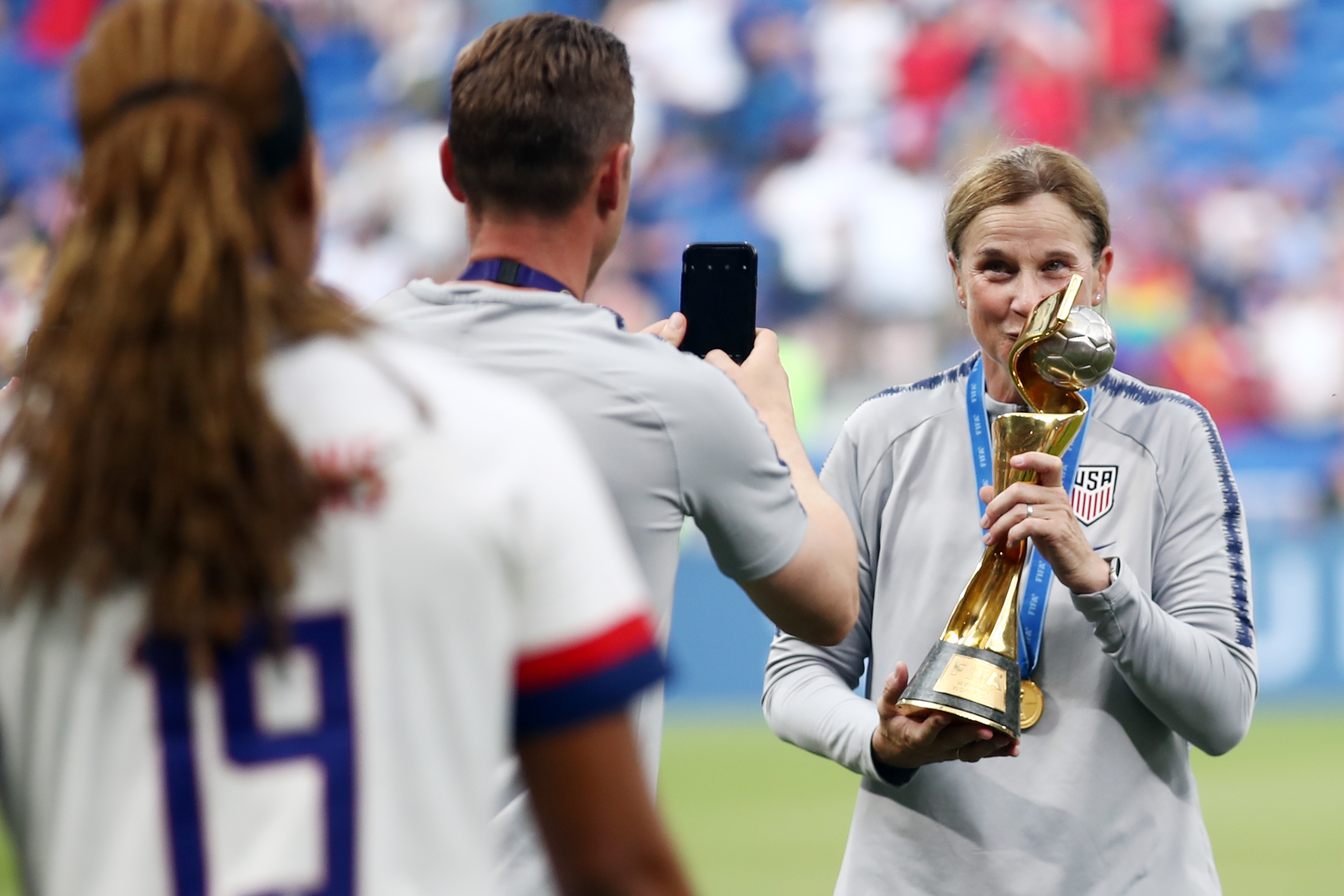 Jill Ellis, ct della nazionale femminile degli Usa campione del mondo 2019