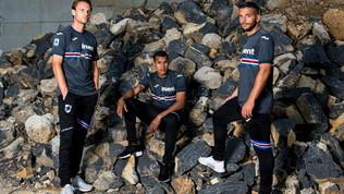 Sampdoria, ecco la terza maglia