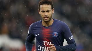 Neymar, alta tensione Psg-Barcellona
