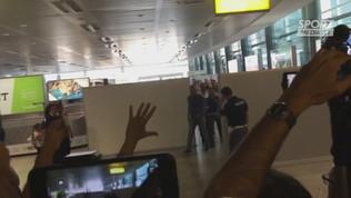 Cagliari, Nainggolan sbarca: è delirio