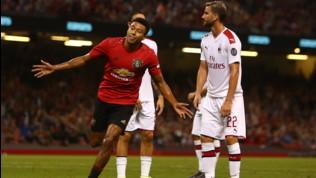 ICC, Manchester United-Milan 7-6 dopo i rigori: Suso gol e assist