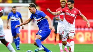Amichevoli, Monaco-Sampdoria 1-0, Falcao gol