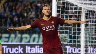 Mercato, Dzeko all'Inter si complica ancora: la Roma alza il prezzo