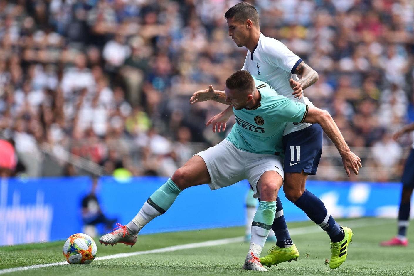 L'Inter batte 5-4il Tottenhamdopo i rigori nell'ultima uscita nell'ICC. Dopo l'1-1 al 90', Joao Mario segna il penalty...