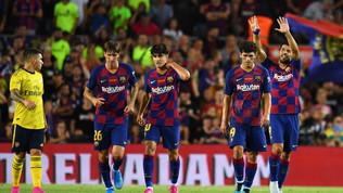 Trofeo Gamper al Barça: Suarez stende l'Arsenal al 90'