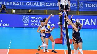 Volley, Preolimpico: l'Italia stende 3-0 l'Olanda e vola a Tokyo 2020<br />