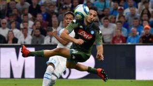 Calcio, amichevoli: il Napoli espugna Marsiglia, decisivo Mertens