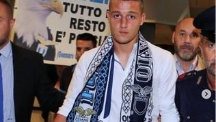 """Lazio, Milinkovic-Savic: """"Felice di indossare questa maglia"""""""