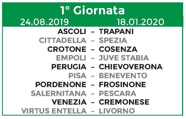 Benevento Calendario.Serie B Svelato Il Calendario Via Il 23 Agosto Chievo