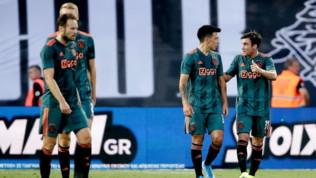 Preliminari Champions League: Huntelaar tiene a galla l'Ajax, impresa Qarabag