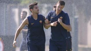 Roma-Dzeko, tensione alle stelle: vuole la cessione, ma sarà in campo con l'Athletic